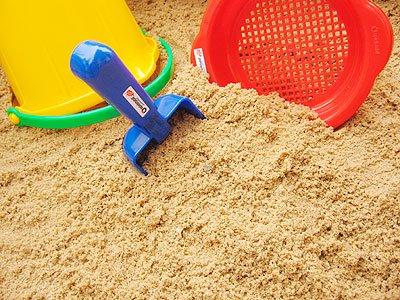 125 kg Spielsand Quarzsand für Sandkasten