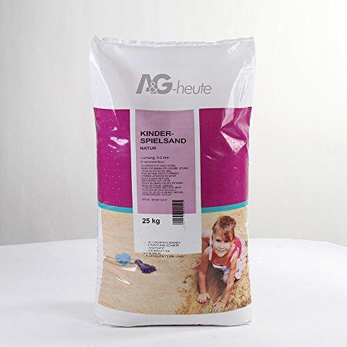 25kg Spielsand Quarzsand für Sandkasten
