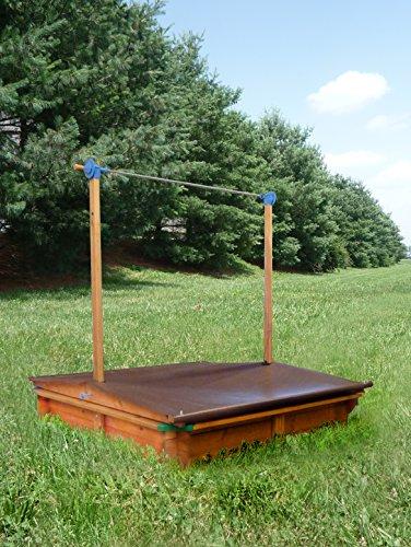 GASPO Holz Sandkasten Mickey mit absenkbaren Kurbeldach